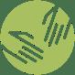 praxis krankengymnastik physiotherapie icon icon grün